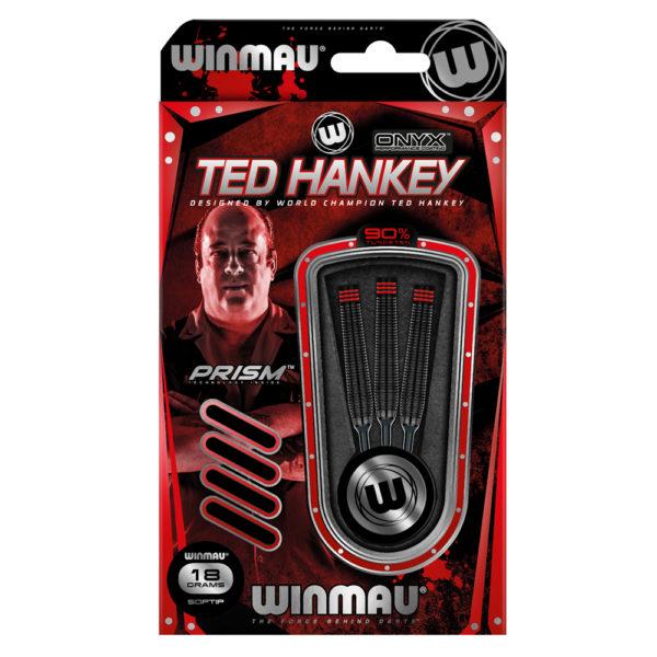 Jeu nylon Winmau Ted Hankey Onyx Coating 90% tgs 18g