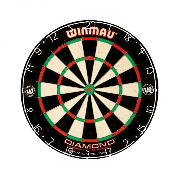 Kit Winmau Cible Diamond,Armoire Plain black,2 jeux de fléchettes