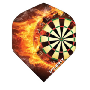 Ailette (3) I-Flight Dartboard large