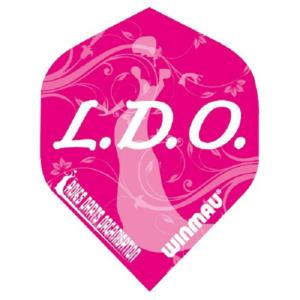 Ailette (3) Mega LDO pink  large