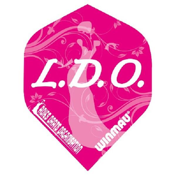 Ailette (3) Mega LDO pink  large les 3 jeux