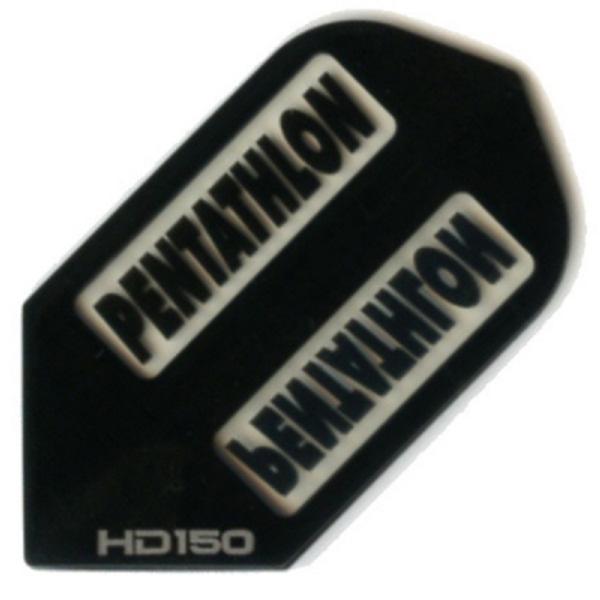 Ailette (3) Pentathlon HD150 black slim