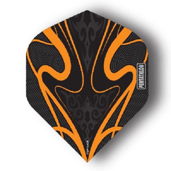 Ailette (3) Pentathlon TPD Lux orange large les 3 jeux