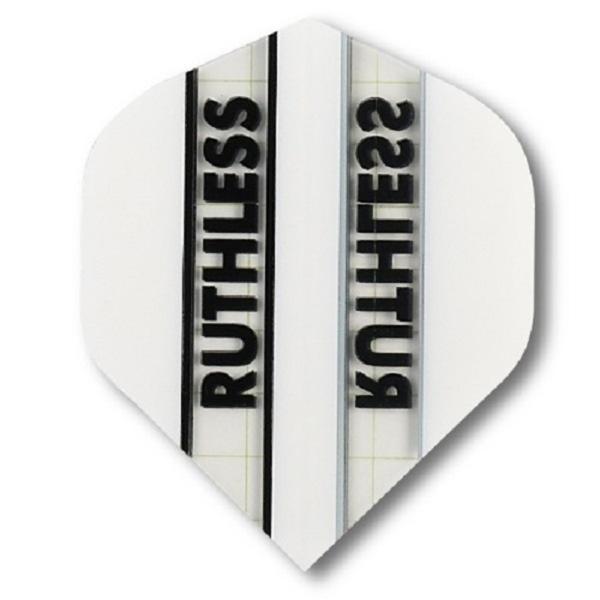 Ailette (3) Ruthless blanche/transparente large les 3 jeux