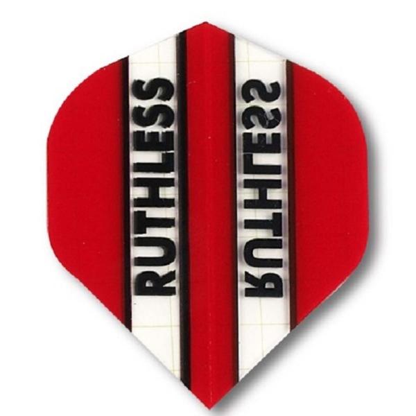 Ailette (3) Ruthless rouge/transparente large les 3 jeux