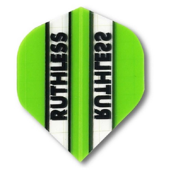 Ailette (3) Ruthless verte/transparente large