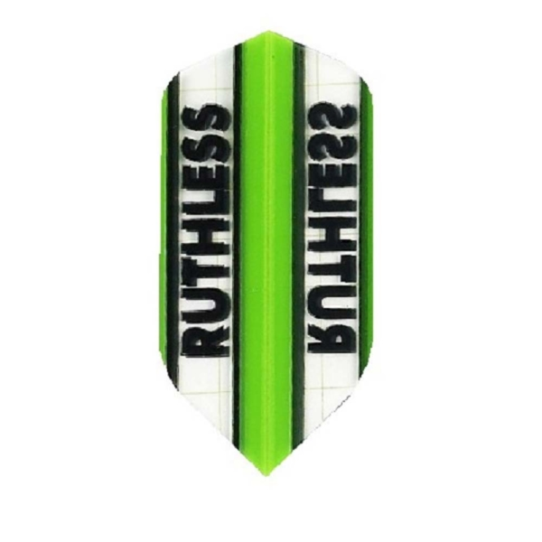 Ailette (3) Ruthless verte/transparente slim