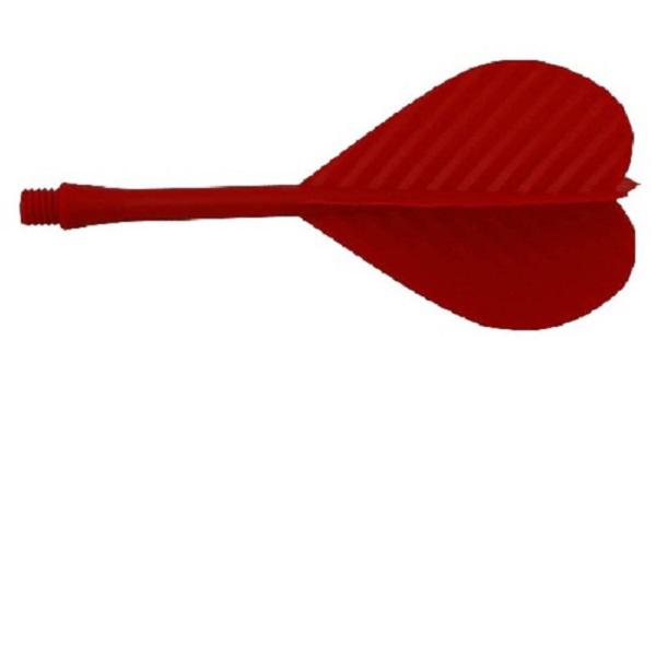 Ailette HT strong Crinkle 2BA rouge les 10