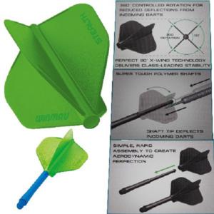 Ailette (3) Stealth vert large