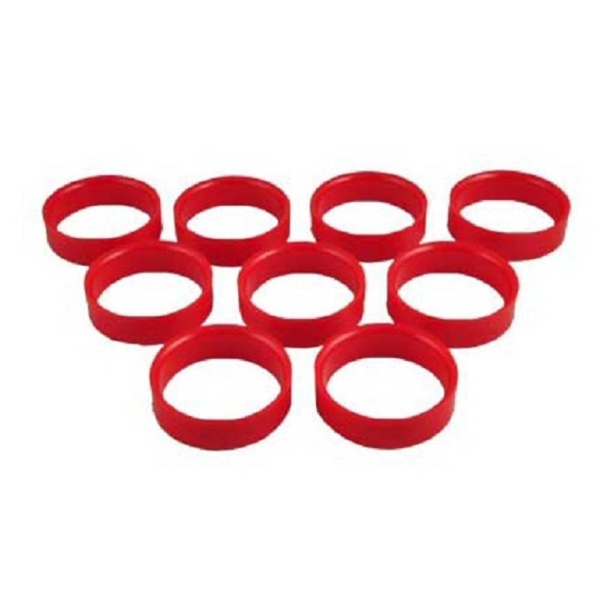 Rond 47,6/50,8mm rouge
