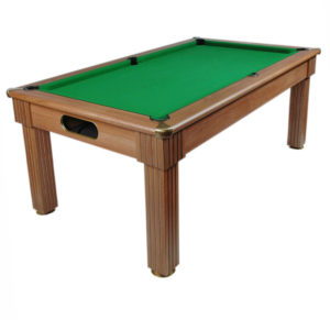 Billard anglais Milano Walnut clair Diner 7ft