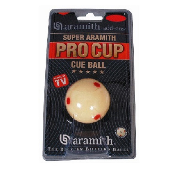 Bille blanche Pro-Cup aramith 52,4mm