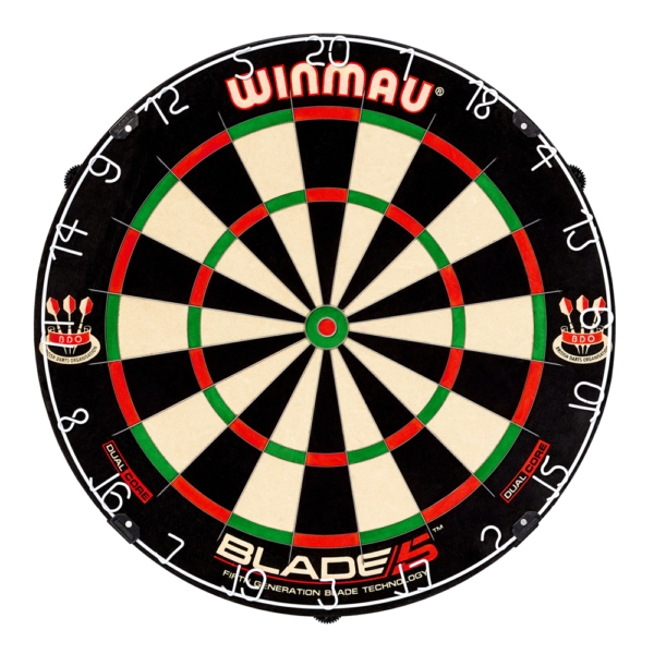 Cible traditionnelle Winmau-Blade 5 Dual Core