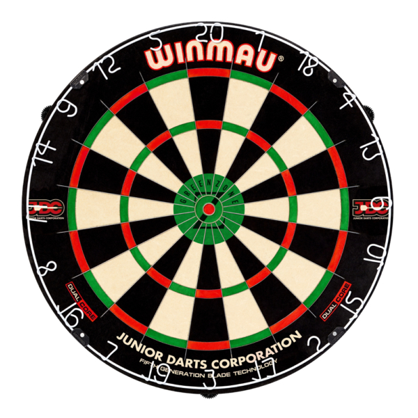 Cible traditionnelle Winmau-Blade 5 Dual Core Green Zone