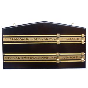 Compteur snooker mahogany 4-pers