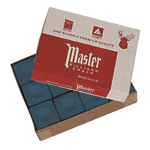 Craie Master bleue boîte de 12
