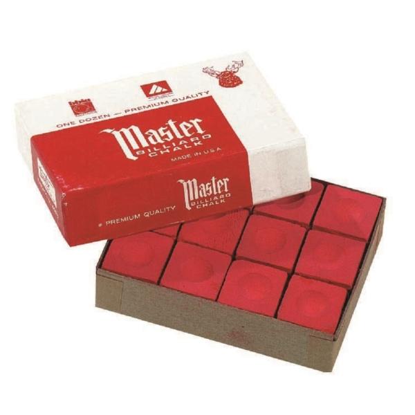 Craie Master rouge boîte de 12