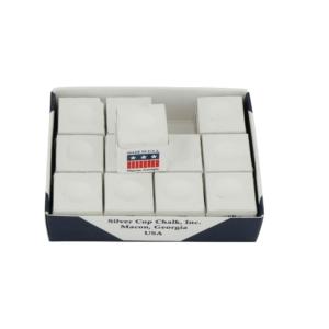 Craie Silvercup blanche boîte de 12