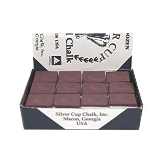 Craie Silvercup bordeaux boîte de 12