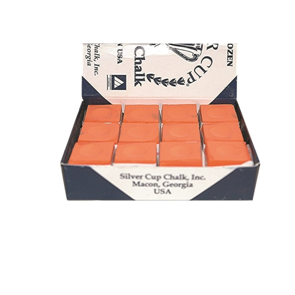 Craie Silvercup orange boîte de 12