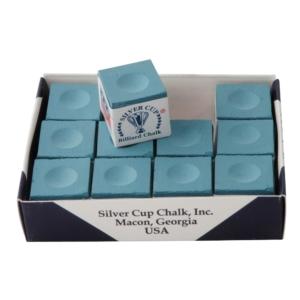 Craie Silvercup powder blue boîte de 12