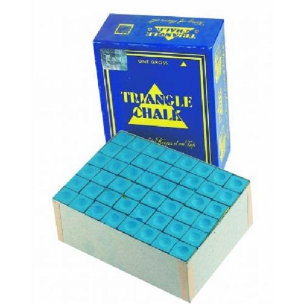 Craie Triangle bleue boîte de 144