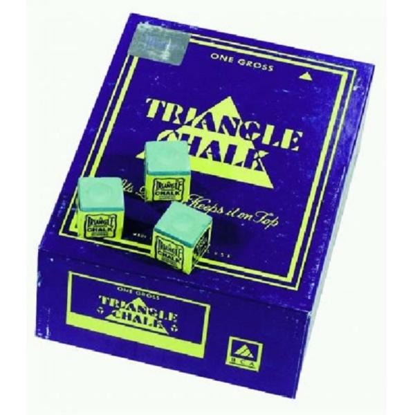 Craie Triangle verte boîte de 144