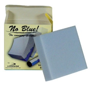 Eponge nettoyante flèche «No Blue»