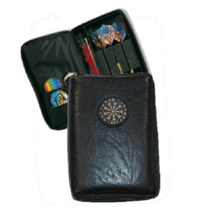 Etui The Pack noir simili-Cuir
