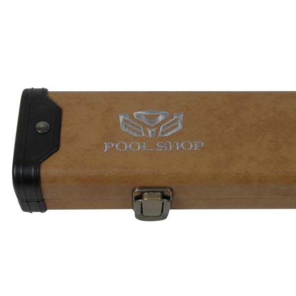 Etui rigide Clear/Dark Brown Pool Shop Queue 1 pièce