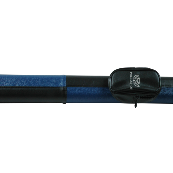 Etui tube pochette Black/Blue Pool Shop Queue 2 pièces