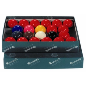 Jeu snooker aramith 50,8mm (10 rouges, 7couleurs)