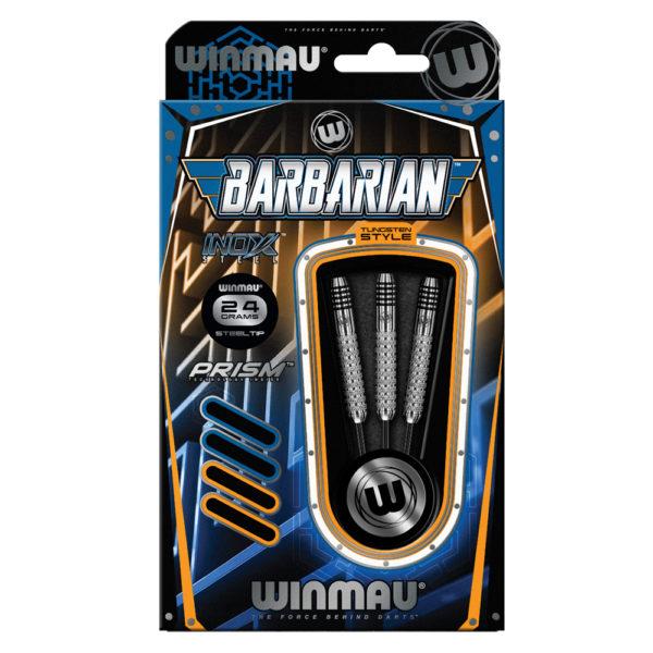 Jeu acier Winmau Barbarian Inox/Steel 24g