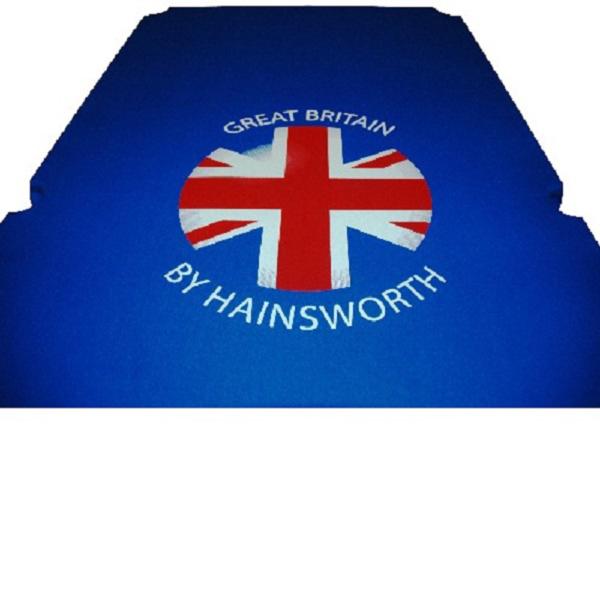 Kit Tapis  Hainsworth Union Jack  Smart 7ft City Blue