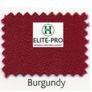 Kit Tapis Hainsworth Elite Pro 7ft USA Burgundy