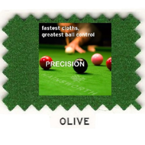 Kit Tapis Snooker Hainsworth Precision 12ft Olive