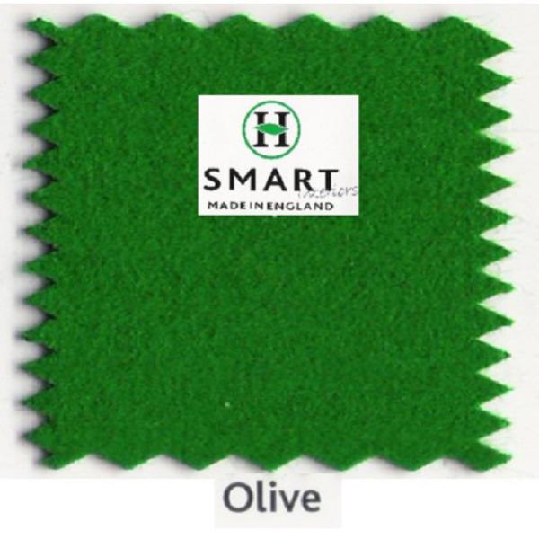 Kit Tapis Snooker Hainsworth Smart 12ft Olive