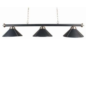 Lampe Similicuir 3 cônes similicuir 150cm
