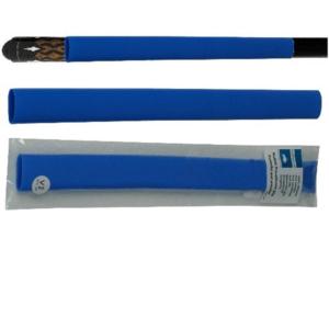 Manchon bleu 100% silicone