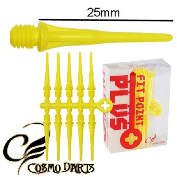 Pointes 2BA (50) Nylon Fit Plus Yellow (25mm)