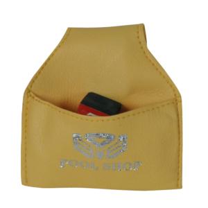 Porte-craie poche vachette jaune