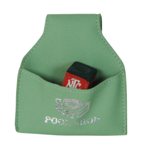 Porte-craie poche vachette vert