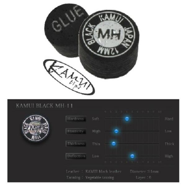 Procédé Kamui Black Medium/Hard 11mm, l'unité