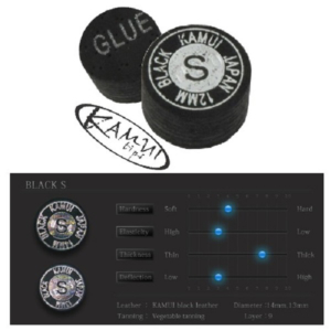 Procédé Kamui Black Soft 12mm, l'unité