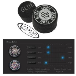 Procédé Kamui Black Super Soft 12mm, l'unité