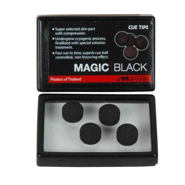 Procédé Master Cue Magic Black 10mm, la boîte de 4