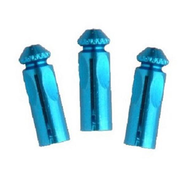 Protecteur (3) ailette alu bleu les 3 jeux