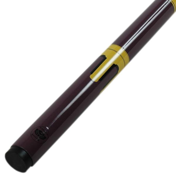 Queue Graph Rainbow Purple/Yellow 2 pièces