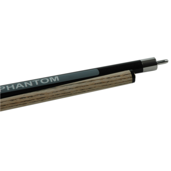 Queue de Jeu/Casse Phantom Black Bumper Butt 2 pièces