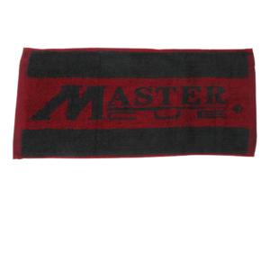 Serviette Master Cue noire/bordeaux